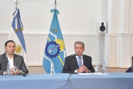 Conferencia de prensa del Gobierno.