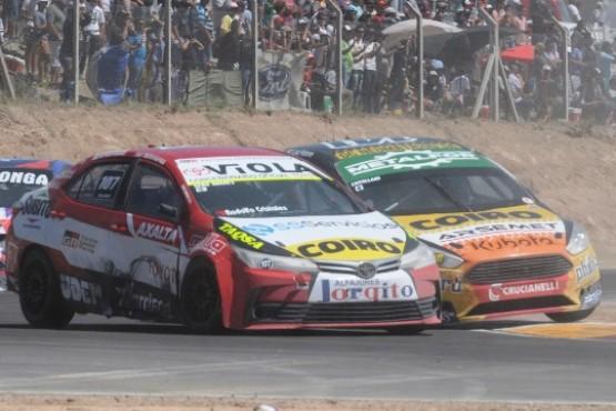 Gómez batallando en Bahía Blanca.