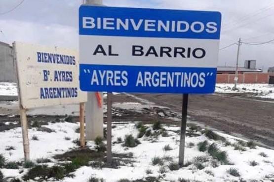 Barrio Ayres Argentinos.