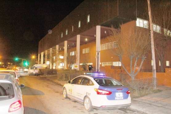 Los dos heridos fueron trasladados al nosocomio local.