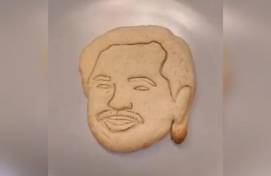 Las galletitas con la cara de Alberto Fernández que son furor