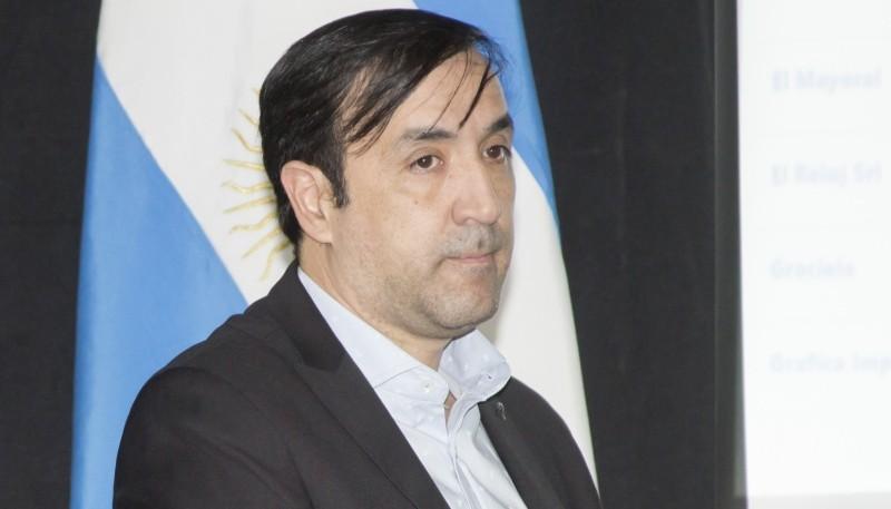 El intendente, Pablo Grasso.