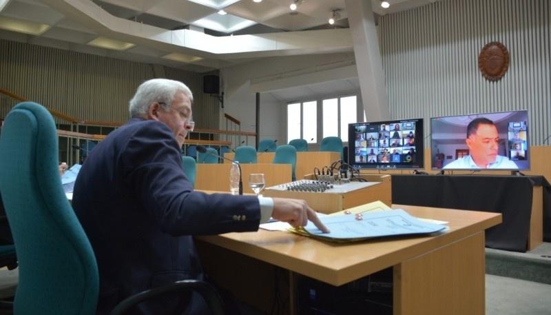 El endeudamiento tomó estado parlamentario en la primera sesión virtual.