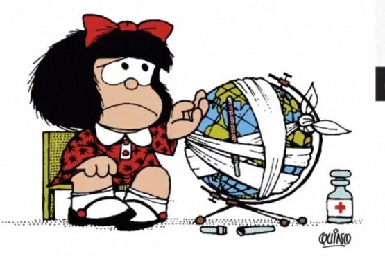 Mafalda no podía faltar.