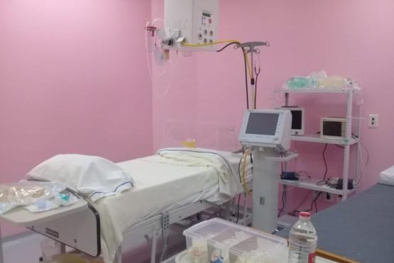 Sala acondicionada para la atención de pacientes con Covid19