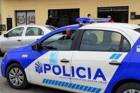 La policía se hizo presente en el lugar.