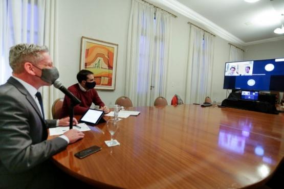 Arcioni propuso a Kulfas un programa de compensación por el pago de zona desfavorable