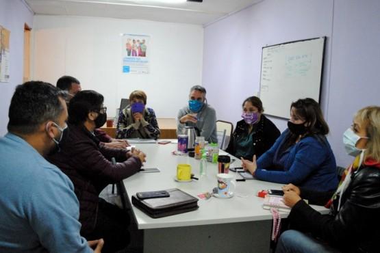 Pintos se reunió con Concejales de la Localidad