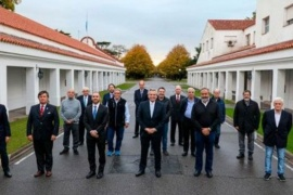 El Presidente recibió un fuerte respaldo de empresarios y trabajadores