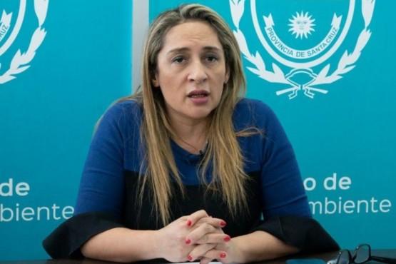 Epidemióloga del Ministerio de Salud y Ambiente, Ana Cabrera
