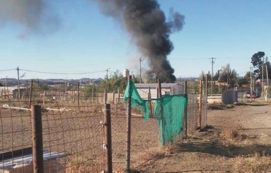 Vecinos rescataron a nene de 4 años de feroz incendio