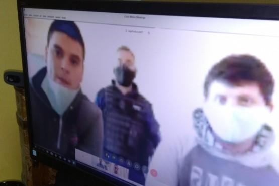 Audiencia de control por causa de robo al kiosco San Cayetano II