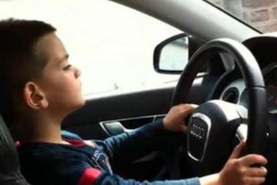 Un niño de cinco años le robó el auto a su madre y se fue a comprar un Lamborghini