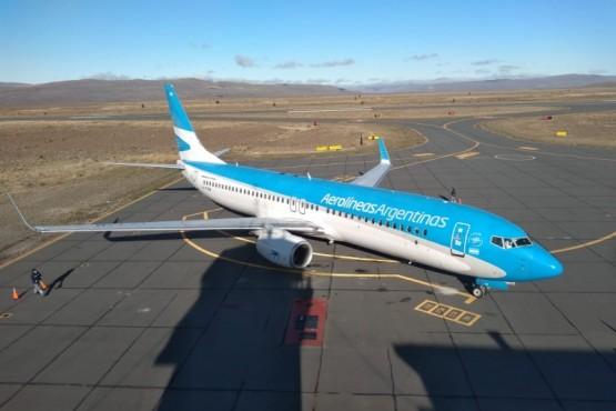 Llegó un vuelo de Buenos Aires con 162 pasajeros