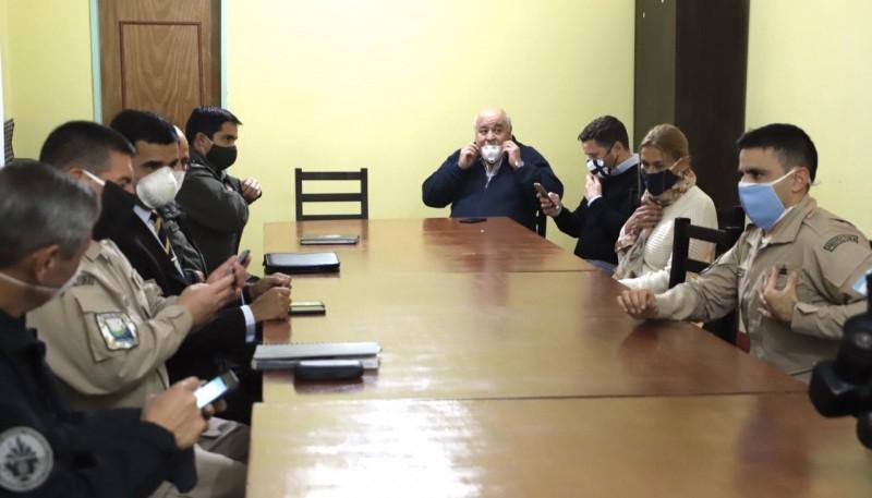 Municipio y fuerzas de seguridad aunaron criterios para el control de ingreso a la Ciudad