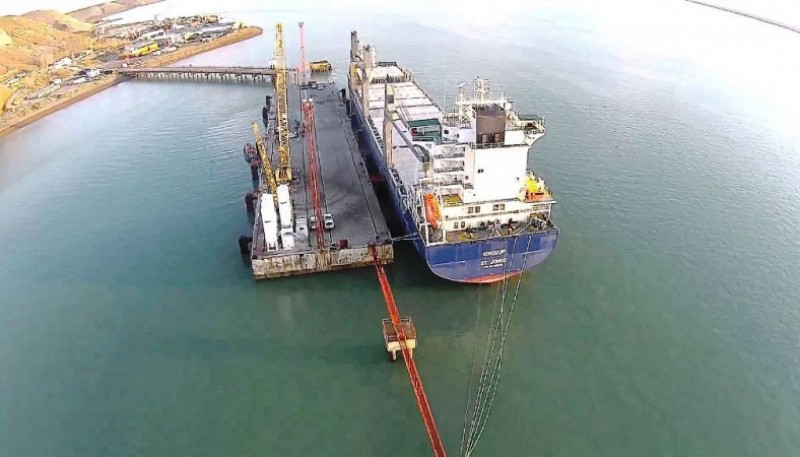 Los silos estarán ubicados en el Puerto de Punta Quilla. (Archivo).