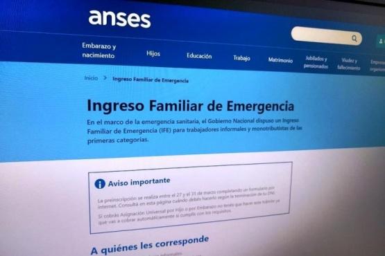 ANSES-INGRESO FAMILIAR DE EMERGENCIA