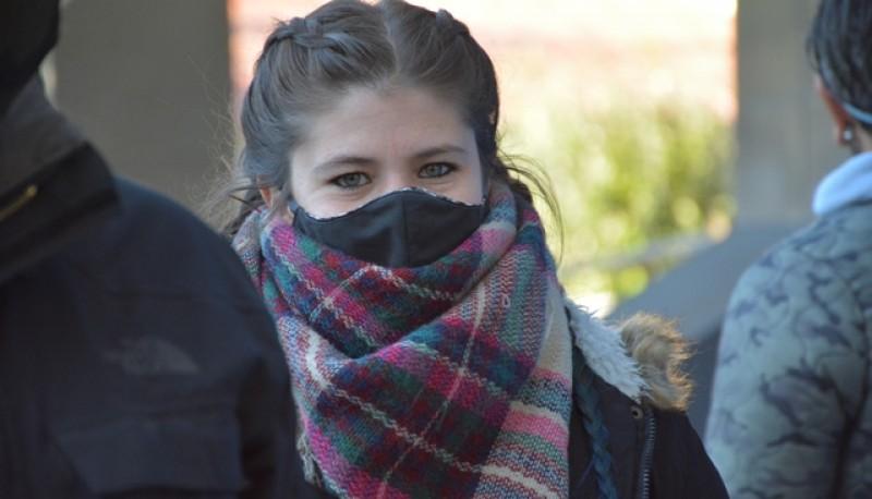 Clima frío en Río Gallegos. (C.R.)