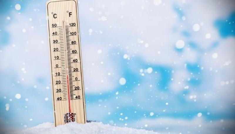 Muy frío en Tierra del Fuego.