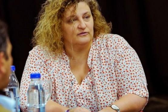 Ministra de Producción y Ambiente, Sonia Castiglione.