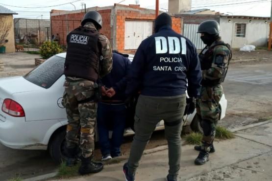 DDI realiza allanamientos en Pico Truncado