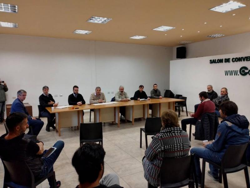 Cooperativa 16 de octubre se reunió con comerciantes y el sector turístico
