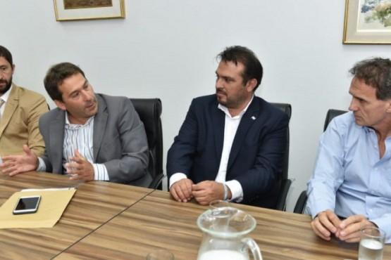Nación avanza en la firma de convenios para las obras hídricas del pluvial de zona sur