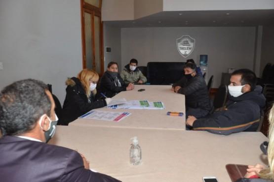 Trabajadores de Fyrsa fueron recibidos por el Municipio