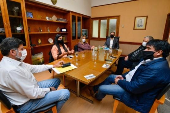 Maderna recibió a Diputados provinciales