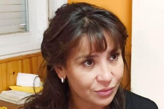 Cecilia Torres Otarola, ministra de Desarrollo Social, Familia, Mujer y Juventud del Chubut.
