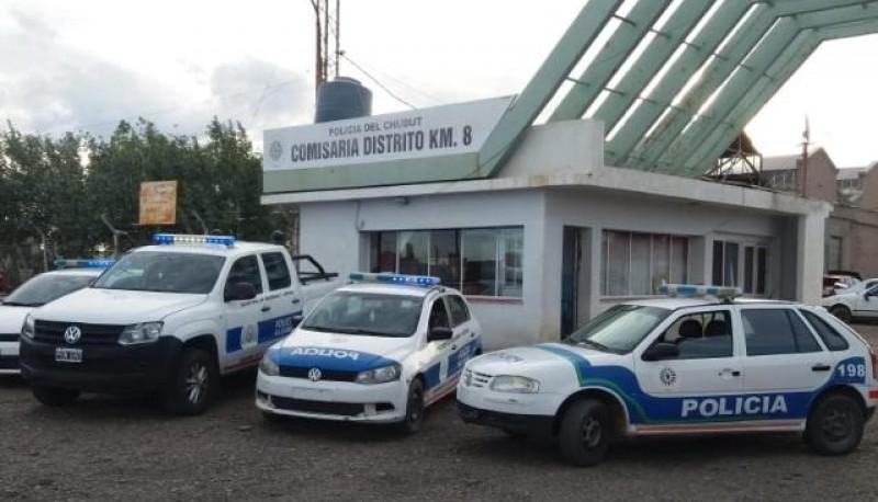 Comisaría KM 8 de Comodoro Rivadavia.