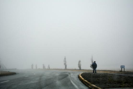 Poca visibilidad en la Autovía (Fotos:C.Robledo).