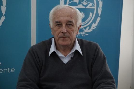 El ministro de Salud y Ambiente.