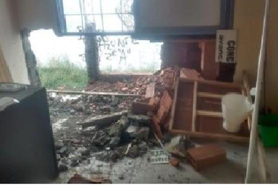 Destrozos y robos en el Comité de la UCR de Río Turbio