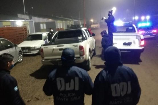 Realizan requisa en una camioneta involucrada en el tiroteo del Barrio APAP (Foto: CG)