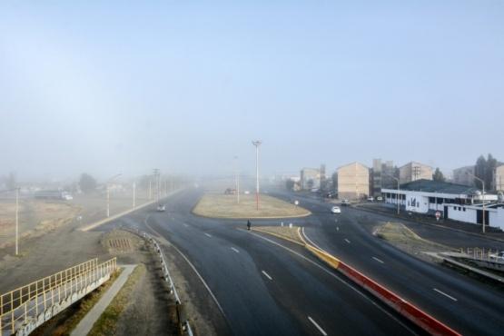 Niebla en Río Gallegos