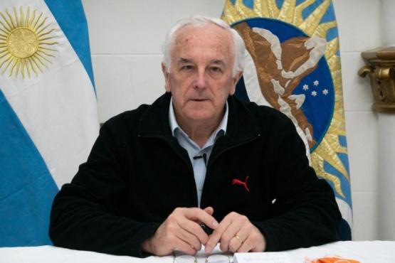 El ministro de Salud y Ambiente, Juan Carlos Nadalich