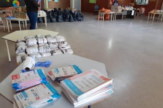 Continúa la distribución de los cuadernillos con actividades pedagógicas