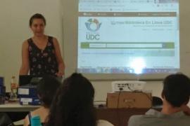 Bibliotecaria UDC integra un equipo nacional para la creación de registros bibliográficos