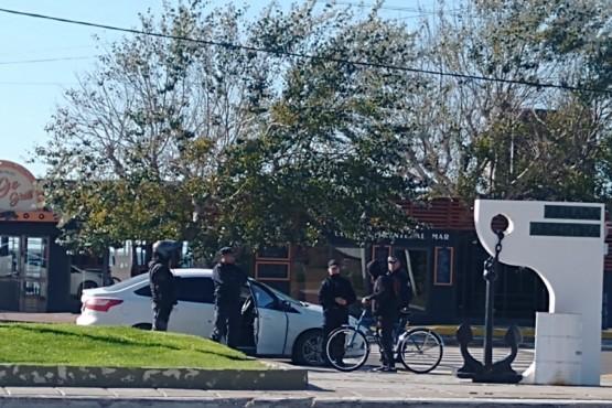 La policía continúa con los controles en Puerto Madryn