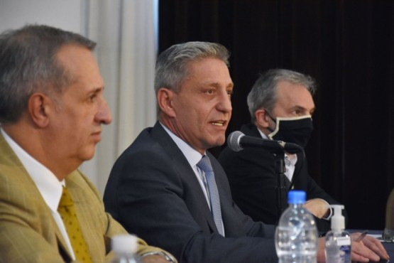 El gobernador, Mariano Arcioni.