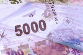 Analizan emitir un billete de 5000 pesos