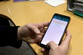 Educación recibe consultas por WhatsApp