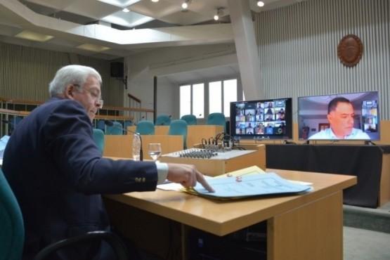 Los diputados tratarán los temas en sesión virtual. (Archivo).