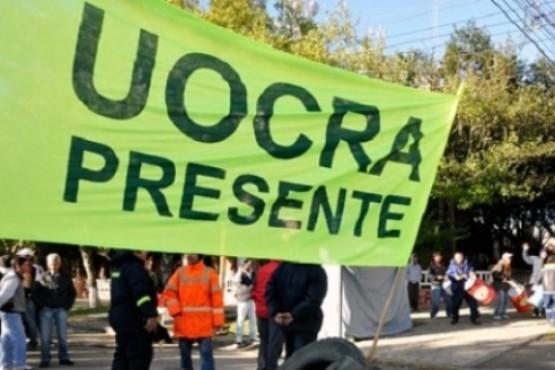 La Uocra podría marchar en reclamo del pago de quincena de abril. (Archivo).