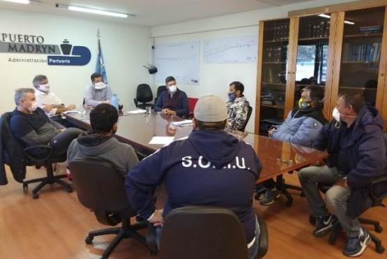 Reunión entre Gobierno y gremios pesqueros.