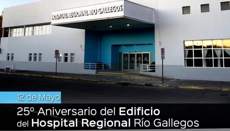 Hospital de Río Gallegos.