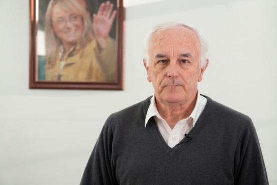 El Ministro de Salud y Ambiente de la provincia, Juan Carlos Nadalich.
