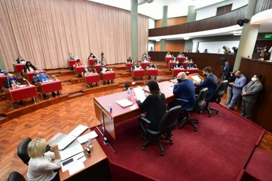 Sesión de la Legislatura.