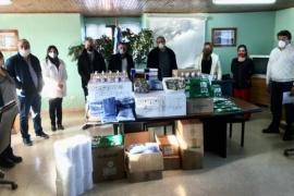 Autoridades provinciales recorrieron los hospitales de Río Turbio y 28 de Noviembre